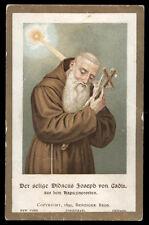 antico santino cromo-holy card  B.DIEGO GIUSEPPE DA CADIZ