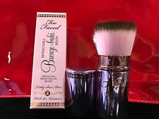 Too Faced Retractable Bronze-buki Brush- New, Never Used, Boxed