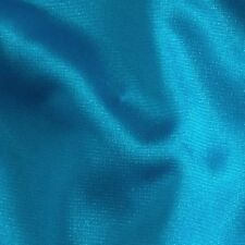 TURQUOISE Nylon Tricot * Fabric Sewing Lingerie Aerial Yoga Silks Hammock 104""