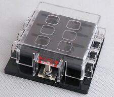 DC32V 8 Way Circuit Car Boat Automotive Auto Blade Fuse Box Block Holder ATC ATO