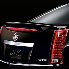 2008-2013 Cadillac CTS Sedan Wing Style Spoiler (Black Raven) by GM 19157099