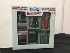GMP Die Cast Parts Dept. Garage Accessories Kit 1:18 Scale NEW Sealed Box