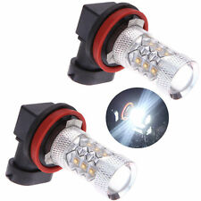 H11 Super Bright White LED Fog Light Bulbs Xenon HID Ford Holden Toyota BMW