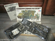Maquette Tamiya-Us.Armoured command-Post car M577-Grappé sous cello-Decals ok