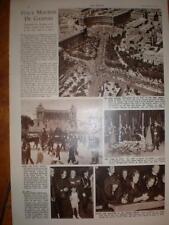 Article Alcide De Gasperi funeral Rome Italy 1954