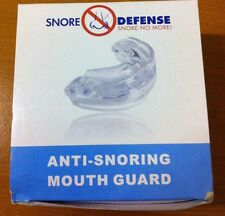 Snore Defense Anti Snoring Mouth Guard Safe Instant Snoring Relief Mouthpiece BX