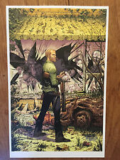 WALKING DEAD  #150   VARIANT ART PRINT 11 X 17 SIGNED BY TONY MOORE!