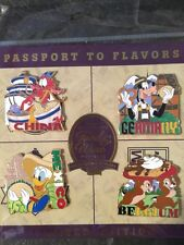 Disney Epcot Food and Wine Festival 2015 Limited Edition 4 Pin Set New