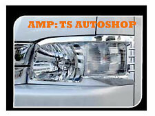 FOR TOYOTA HIACE COMMUTER 2011-2013 CHROME HEAD LAMP LIGHT COVER TRIM V.1