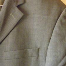 Men's OSCAR DE LA RENTA 100% Wool 3-Btn 2Pc Matching Business Suit 44R (36x31)