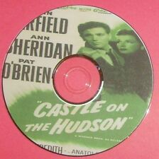 FILM NOIR: CASTLE ON THE HUDSON 1940 Anatole Litvak John Garfield, Pat O'Brien