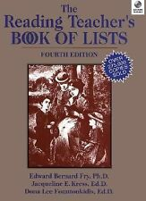 The Reading Teachers Book of Lists, 4th Edition