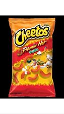 Lot Of 2 Bags Flamin' Hot Puffs Cheetos 8.0 oz Get Spicy Snacks All Year Long
