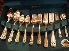 International Eternally Yours Silverplate 52 Piece Set with Case