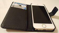 Apple iPhone 5 5s funda de protección magnética funda FLIP CASE estuche Wallet bumper cáscara