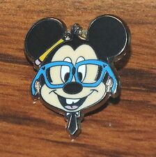 Walt Disney Nerd Version of Mickey Mouse 2012 Official Collectible Pin / Brooch