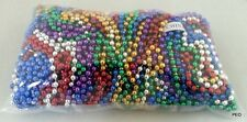 144 Mardi Gras Beads Bulk Lot Necklaces Free Shipping Party Favors Multi-color