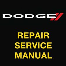 DODGE RAM 1500 2500 3500 1999 2000 2001 2002 2003 REPAIR SERVICE WORKSHOP MANUAL