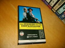 Betamax * The Duchess & the Dirtwater Fox * 1976 Pre Cert Magnetic Video Western