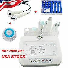 4 In 1 Microcurrent Diamond Micro Dermabrasion Ultrasound Skin Scrubber Machine