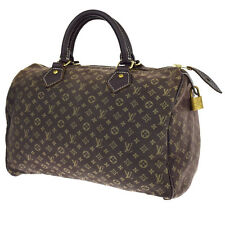 Auth LOUIS VUITTON Speedy 30 Boston Hand Bag Monogram Mini Lin M95224 60U807