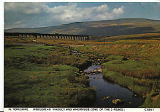 Yorkshire Postcard - Ribblehead Viaduct and Whernside - One of The 3 Peaks  LE86