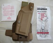 Safariland 6004SS Drop Leg Tactical Holster RIGHT HAND Springfield Armory 1911