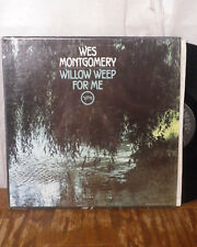 wes montgomery willow weep for me LP verve w/ shrink top copy M-