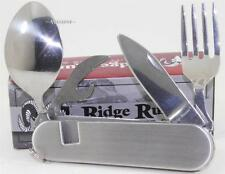 Ridge Runner Fork, Spoon, Can Opener, Camping Hiking Hunting Multi-Tool Knife