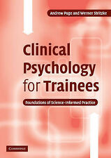 Clinical Psychology for Trainees: Foundations of Science-Informed Practice, Stri
