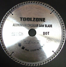 Quality TCT  Circular Saw Blade for Aluminium 250 x 30 mm 80T TZ PA028 NEW
