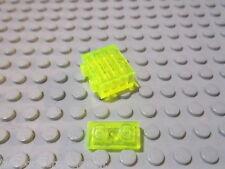 Lego 5 Platten 1x2 tarnsparent neongrün 3023 Set 6977 6899 6198 6982