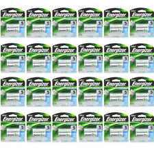 24 Pack Energizer Rechargeable Power Plus AA 2300 mAh Batterie 2Ea =48 Batteries