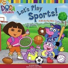 Let's Play Sports!: A Lift-the-Flap Story (Dora the Explorer (Simon & Schuster))