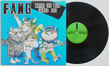 Fang - Where The Wild Things Are LP US PRESS Hell's Kitchen Verbal Abuse Punk HC