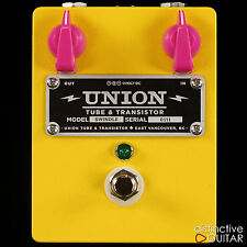 BRAND NEW UNION TUBE & TRANSISTOR SWINDLE EFFECTS PEDAL DISTORTION / OVERDRIVE