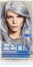L 'Oreal Paris el color del cabello Feria Pasteles Colorante P1 Smokey Azul, Plata/Gris Importación Usa