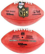 Official Wilson NFL The Duke Football On Field Game Ball Authentic Leather F1100