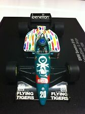 Minichamps 1986 Gerhard Berger BMW Benetton B186 Mexico Box #20 1:43 MIB •