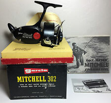 GARCIA MITCHELL SALTWATER 302 FISHING REEL 1950's ***NEW W/BOX***