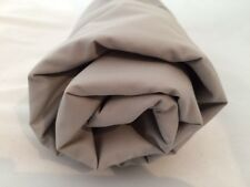 Pewter Gray Full Flat Sheet Luxury Cotton 400 TC Supima Percale Company Store