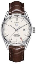 WAR2011.FC6291 | TAG HEUER CARRERA | BRAND NEW CALIBRE 7 TWIN TIME MENS WATCH