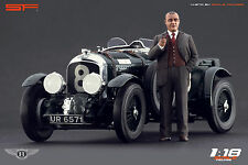 1/18 W.O. Bentley VERY RARE!!! figures for 1:18 CMC Autoart Minichamps