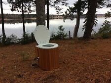 Down To Earth Toilet-compost, no water, no electricity, no venting needed