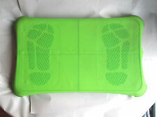Nintendo Wii Fit Balance Board w Green Removable Silicone Cover & Carrying Case