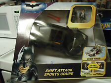New BATMAN Shift Attack Sports Coupe With Action Figures The Dark Knight