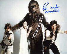 REPRINT -PETER MAYHEW 1 Star Wars CHEWBACCA autographed signed photo copy