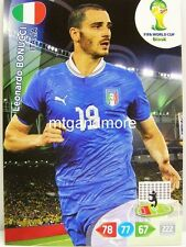 Adrenalyn XL - Leonardo Bonucci - Italien - Fifa World Cup Brazil 2014 WM