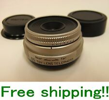 PENTAX 05 TOY LENS TELEPHOTO FOR PENTAX Q MOUNT 18 MM F/8.0 LENS F/S NEW!