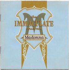 The Immaculate Collection by Madonna CD 1990 Sire